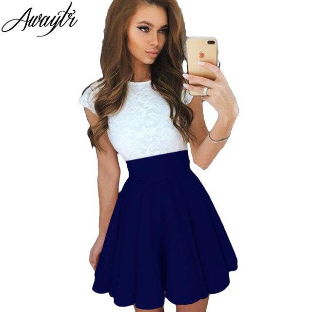 New 2019 Fashion Women Summer Skirt Plus Size Skirt Ol All Match