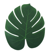 Artificial Monstera Plants Plastic Tropical Palm Tree Leaves Home Garden Decoration Accessories Photography Decorative Leaves(China)