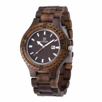 Роскошный изысканный Relogio masculino Для мужчин модные часы аналоговый японский просто удивительно Дизайн Кварц древесины смотреть 711 P50