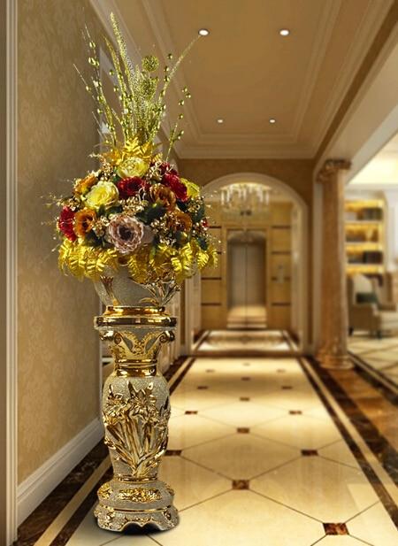 High Grade Tamanho Grande Vaso Ch 227 O Da Sala Mercado Restaurante Villa Decora 231 227 O Vaso Com Flor Em