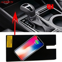 Special on board QI wireless phone charging panel Car Accessories For Hyundai Tucson 2016 2017 2018 Third Generation car styling