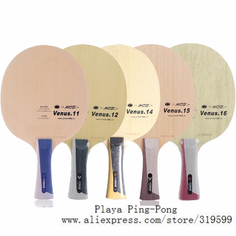 Yinhe Venus 14 V11 V12 V14 V15 V16 V 14 V 14 blue aryl carbon Pingpong table tennis blade racket