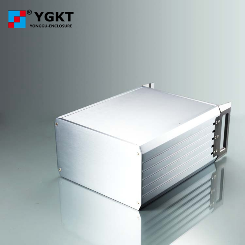 445*133.5-300mm (wxhxd) 3u aluminum housing electrical metal junction box pcb aluminum extrusion housing extrusion enclosure цена