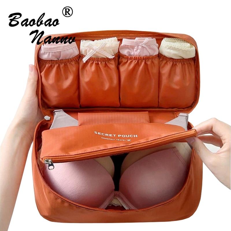 Travel Bra Storage Cosmetic Bags Fashion Portable Underwear Sorting Organizer Case Waterproof Makeup Bag Kits Wash Pouch