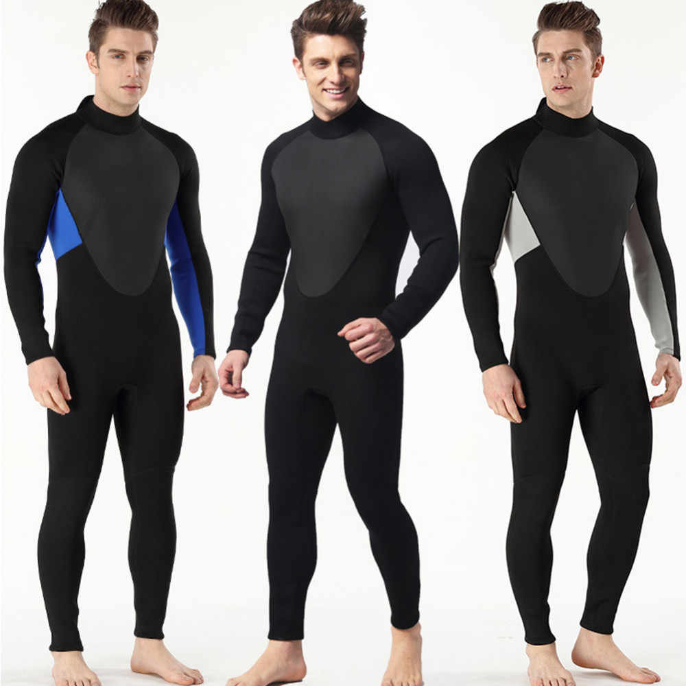 5364a64620 Detail Feedback Questions about High Quality New 3mm Cool Black Diving  Triathlon Neoprene Wetsuit for Swimming Surf Men Scuba Equipment Split Suits  S 3XL on ...
