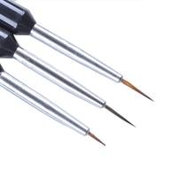 Дизайн салона ногтей набор кистей для рисования ногтей Рисование, полировка кисти ручка инструменты линия рисунок для украшение для ногтей