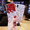 For IPhone 6 6s 7 8 Plus X Luxury Fashion Handmand DIY Rhinestone Diamond Tassel Soft