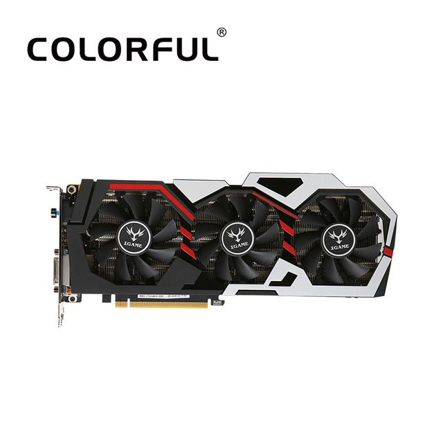 Colorful iGame NVIDIA GeForce GTX 1070Ti Vulcan U Top Graphics Card 1607/1683MHz 8G GDDR5 256bit Ready with HDMI DP DVI-D Port