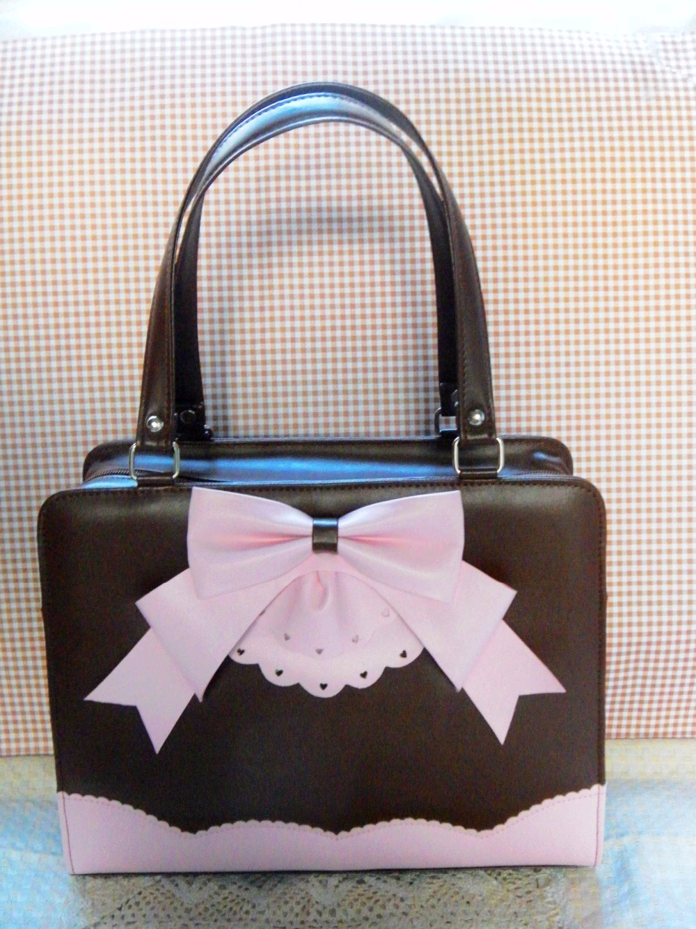 2de31522a8 Princess sweet lolita handbag loris Japanese sweet soft sister adorable  cute students cake butterfly handbag women loris035-in Top-Handle Bags from  Luggage ...