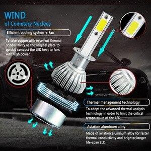 Image 3 - 2PCs 9 36V LED C6 Car  Headlight LED Light 36W Automatic Headlamp 6000K Light H1 H3 H7 H11 H13 9004 9005 9006 36W 3800LM Bulb
