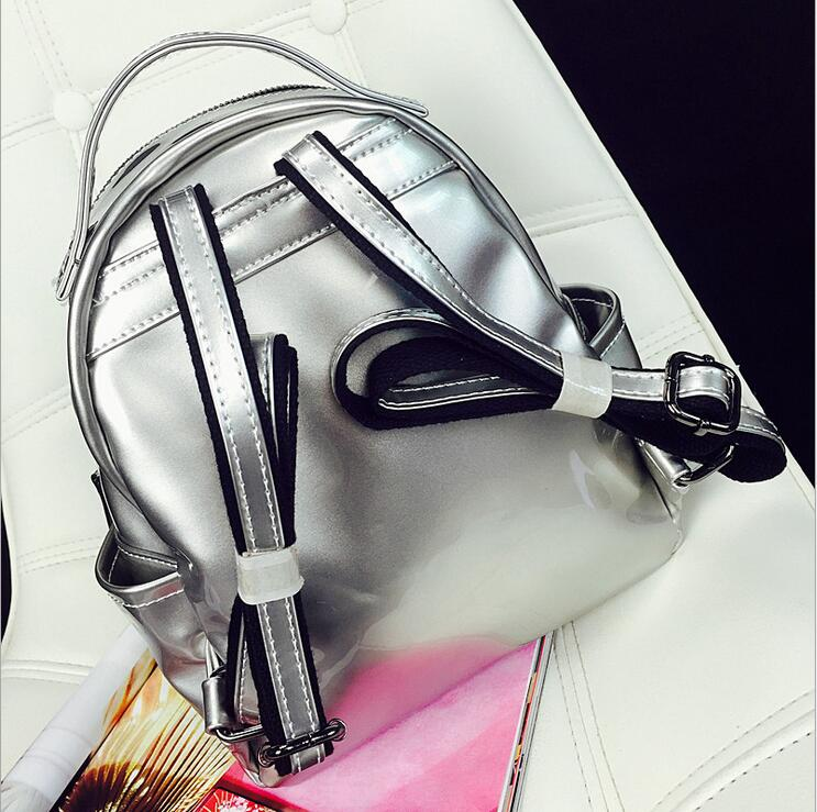 2017 novas mulheres backpack feminina Material Principal : Plutônio