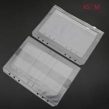 A6 Folder Binder Applications-Product Presentation A5 Spiral Pvc Bag Receives Pvc-Bag