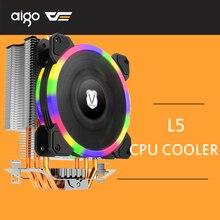 Охладитель процессора darkFlash радиатор для ПК с 5 прямыми контактными тепловыми трубками и 120 мм pwm-лампа Вентилятор компьютера cpu охлаждающий вентилятор воздуха игровой вентилятор