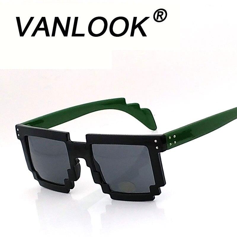 f1955dd6f7 Detalle Comentarios Preguntas sobre Gafas de sol Pixel Points para mujer  gafas de moda para hombre brillante Negro mate negro té rojo rosa verde  tortuga en ...