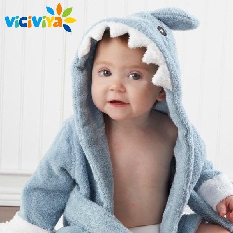 10 Designs Cartoon Cute Animal Modeling Baby Bath Towels Baby Bathrobes Cotton Childrens Bathrobes Baby Hooded!
