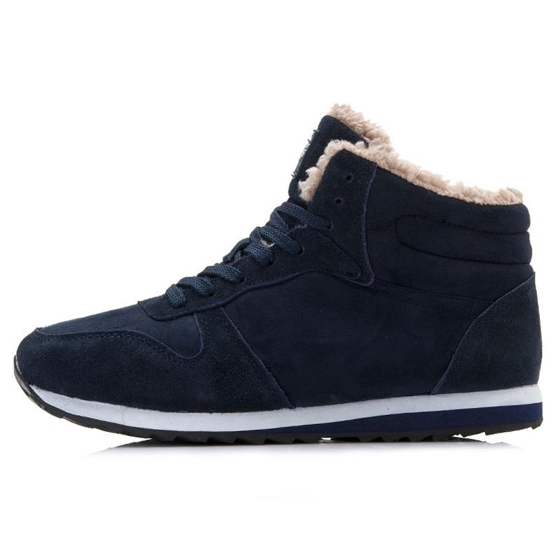 0aa7e6a17e22 ... Men Shoes Warm Men Winter Shoes Snow Boots Men boots Work Shoes Flock  safety shoes Winter ...
