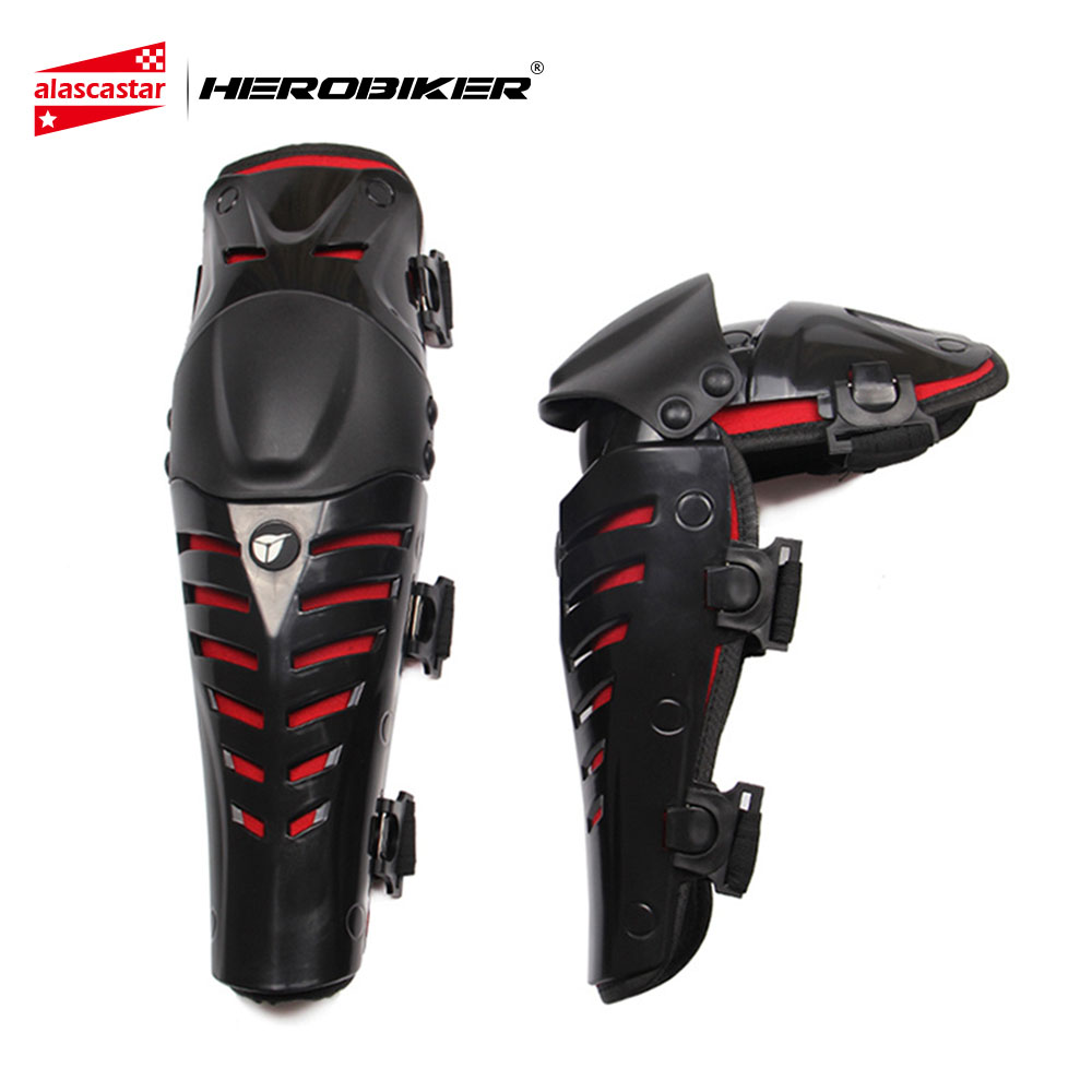 HEROBIKER Motorcycle Knee Pads Motocross Off-Road Racing Knee Protector Guard Extreme Sports Protective Gear Accessories motorcycle protection motorcycle knee pads protector moto racing protective gear pro biker p03 motocross knee protector