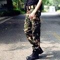 8 estilo 2016 Nuevo ejército militar Hombres pantalones de camuflaje más ejercicio pantalones bolsillo Pantalones Casuales más el tamaño de alta calidad
