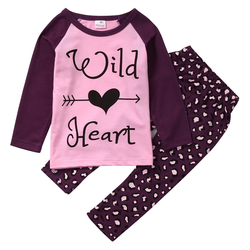 New Style Fashion 1-6Y Autumn Winter Toddler Baby Girl Clothes Kid Shirt Long Sleeve Top Pants Clothes 2pcs Outfit Set fashion brand autumn children girl clothes toddler girl clothing sets cute cat long sleeve tshirt and overalls kid girl clothes