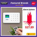 KERUI G18 אלחוטי בית GSM אבטחת אזעקה מערכת DIY ערכת APP בקרת עם אוטומטי חיוג תנועה גלאי חיישן פורץ אזעקה מערכת
