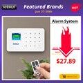 KERUI G18 Kablosuz Ev GSM güvenlik alarm sistemi DIY Kiti APP Kontrolü Ile Otomatik Arama hareket dedektörü Sensörü hırsız alarmı Sistemi