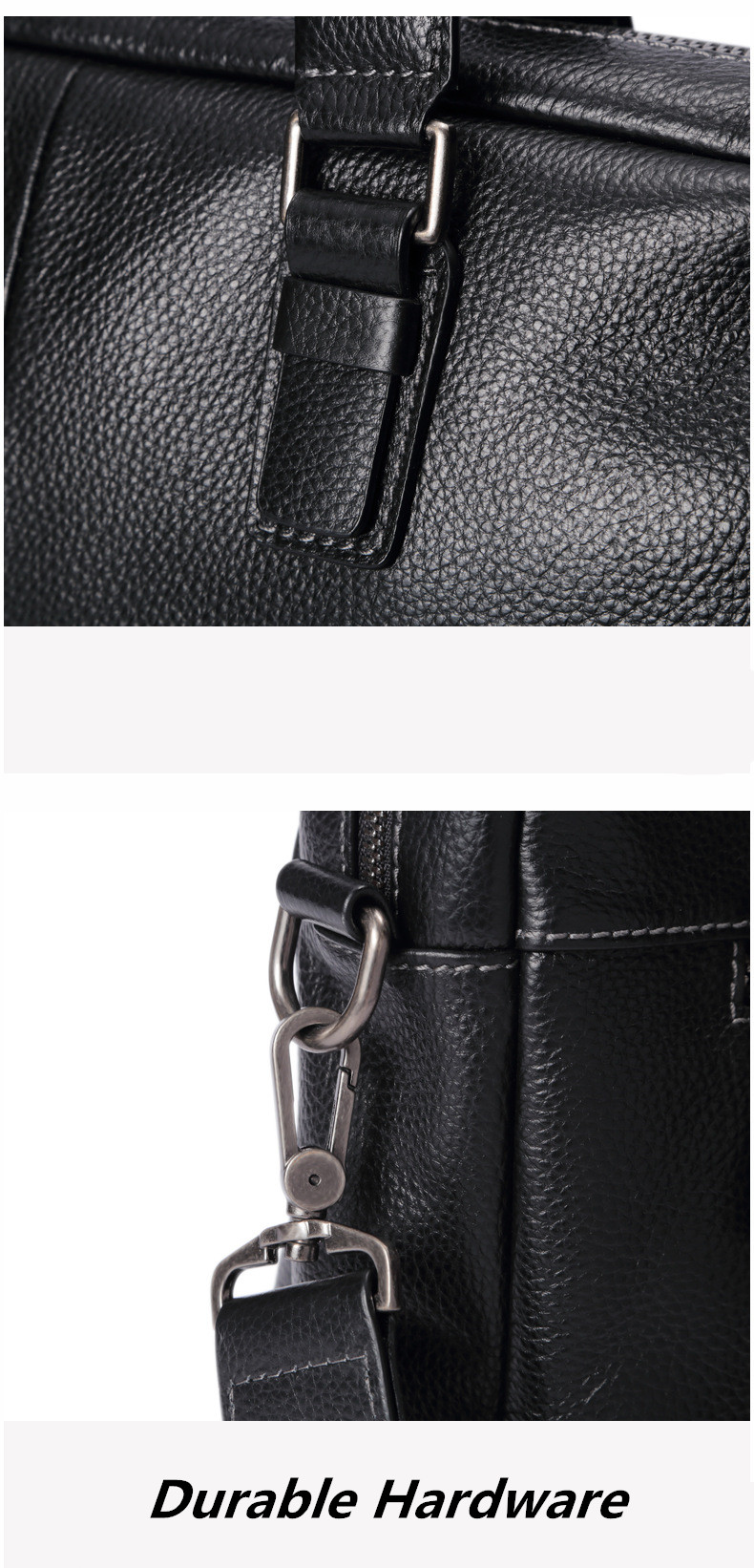 genuine leather briefcase (10)