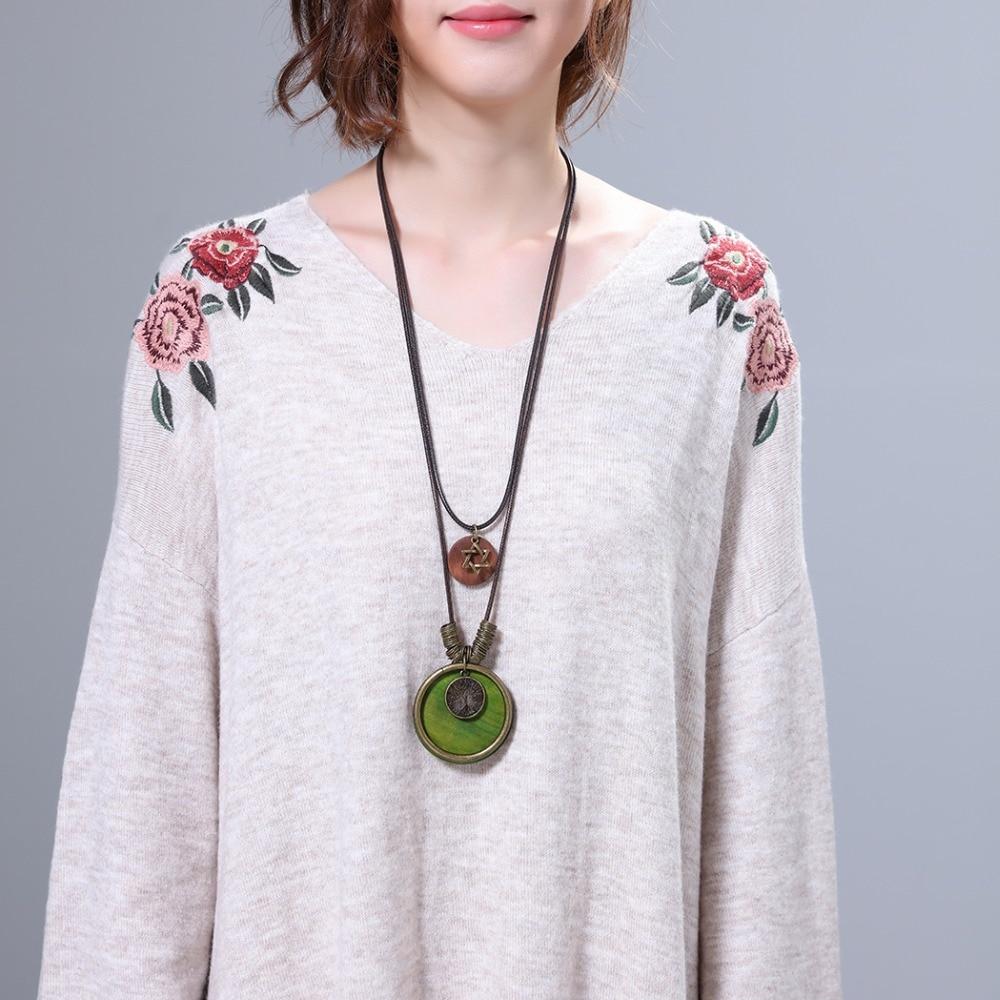 Nueva llegada vintage choker collar de mujer joyería de moda árbol - Bisutería - foto 3