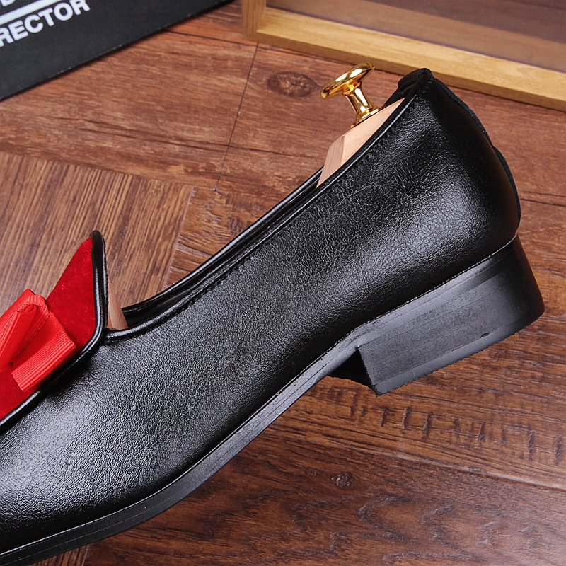 Chaussures Cuir 2 Mocassins Plat En Printemps 1 Arc Hombre Hommes Pour Cravate Automne Avec dTUpUqw