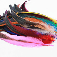 10Pcs/Lot Dyed Rooster tail feather Chicken Feather 30 - 35cm / 12 -14Inch DIY wedding celebration articles for use