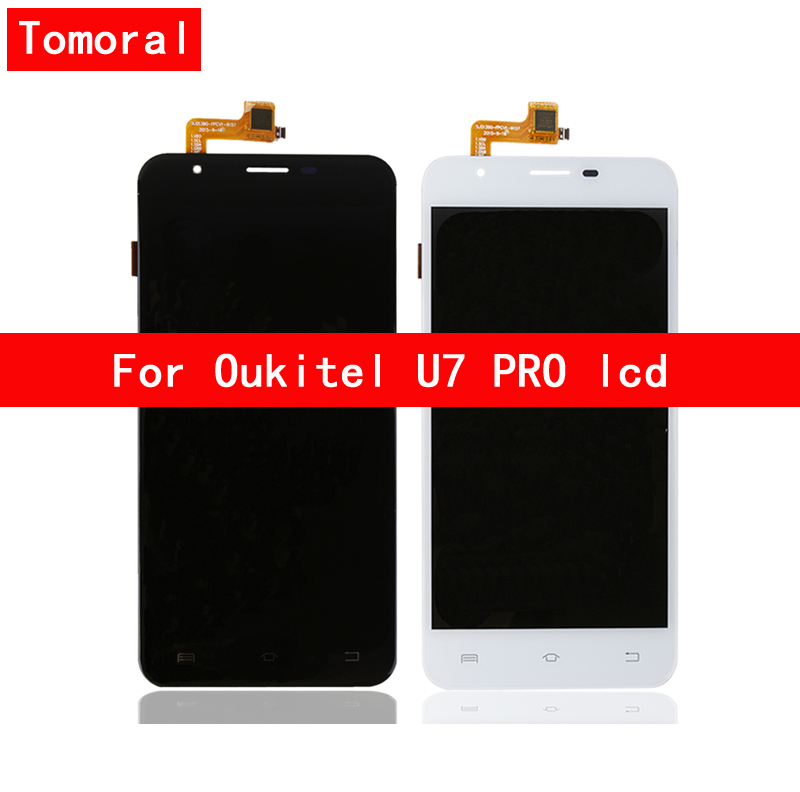 100 Brand New For Oukitel U7 PRO LCD Display Touch Screen Digitizer Replacement Free Shipping