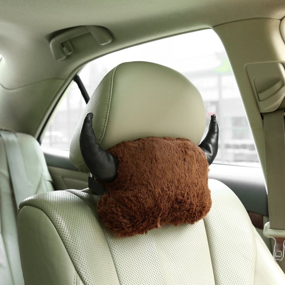Car neck pillow soft lovely breathe comfortable car auto head neck rest cushion headrest pillow pad