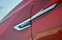 Side Wing Fender Air Vent Outlet Cover Trim 4pcs For Volkswagen VW Tiguan 2nd Gen 2016