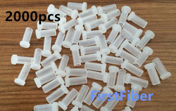 SC LC FC ST connector dust caps 2000PCS Fiber patch cable dust caps connector adapter