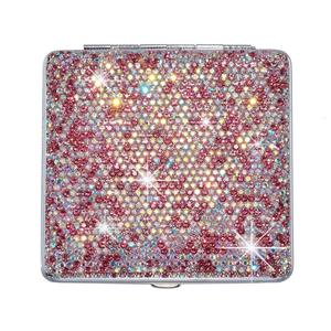 Image 5 - Car Storage Bag Shiny Portable Organizer Auto Storage Box Exquisite Case Holder For Cards Cigarette