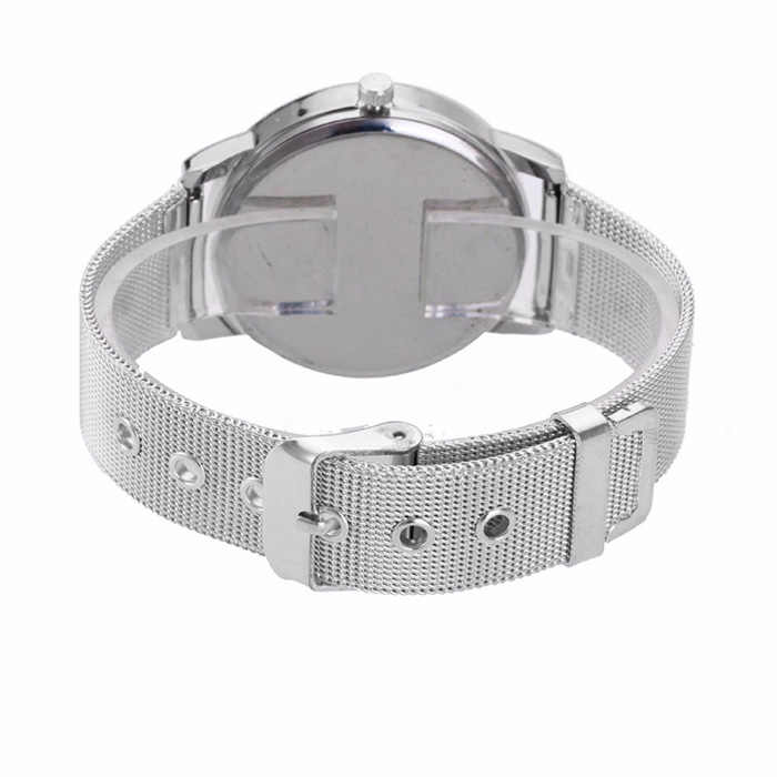 יוקרה שעון נשים 2019 גביש זהב מותג נירוסטה צמיד אנלוגי קוורץ שעון יד שמלה שעון Relogio Feminino