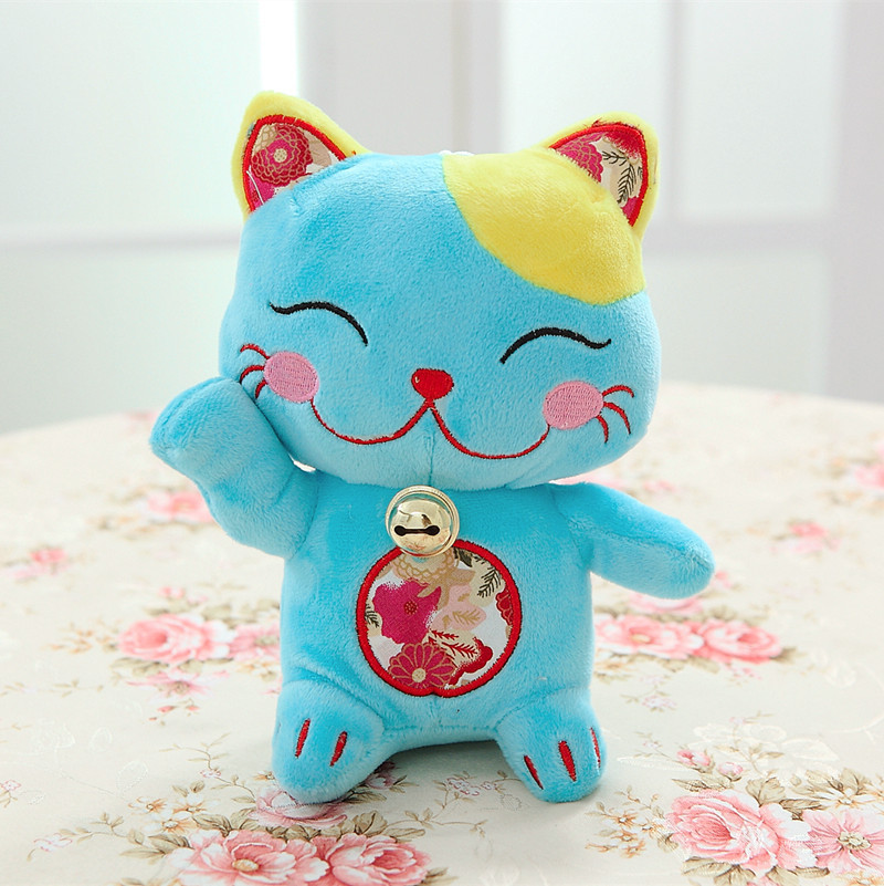 2017 plutus cat  dolls home car decoration Friend creative gift happy cats with bells