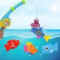 Colorido De Pesca Alegria Brinquedos para o Banho Do Bebê Brinquedos Plástico Safe Kids Brinquedos do Jogo Da Água Frete Grátis
