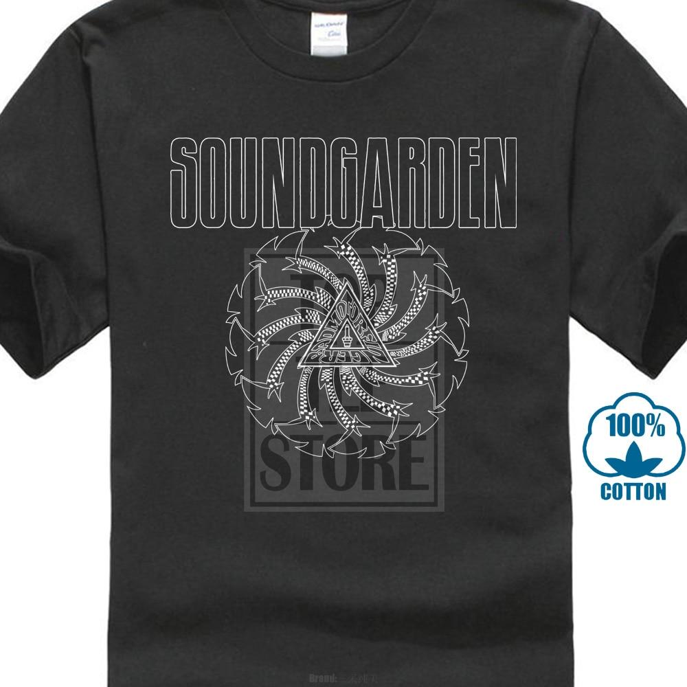 Soundgarden Badmotorfinger Rock Chris Cornell Official Tee   T     Shirt   Mens Unisex Hipster Tee   Shirt   Homme Western Style