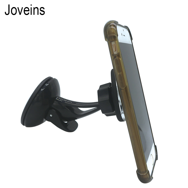 JOVEINS Universal 360 Rotation Magnetic Holder For Phone in Car Slicone Sucker Car Phone Holder Stand Windshield Dashboard