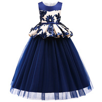 JAYLAY Kids Toddler Flower Girls Lace Dress Pageant Wedding Bridal Children Bridesmaid Princess Gown Tutu Dress 3 14 Years