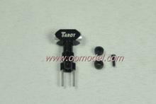 Tarot 250 spare parts TL25004-00 Bright Black Metal Rotor Housin for 250 rc helicopters Free Track Shipping