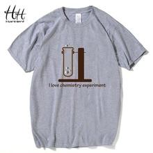 HanHent Chemistry T Shirt Men Printed Brand Big Bang Theory Tshirts Short Sleeve O-neck Men's T-shirt Geeks Roupas Masculina