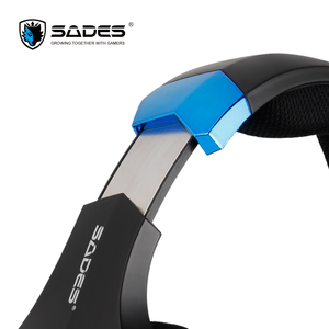 Image 4 - SADES Spellond Pro Bongiovi Acoustics Gaming Headset Deep Bass Vibration Headphone Omnidirectional Microphone