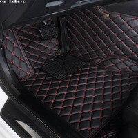 Car Believe Auto car floor Foot mat For pajero sport 4 grandis lancer outlander xl 2017 2013 car accessories waterproof carpet|Floor Mats| |  -
