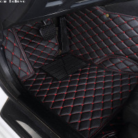Car Believe Auto car floor Foot mat For pajero sport 4 grandis lancer outlander xl 2017 2013 car accessories waterproof carpet
