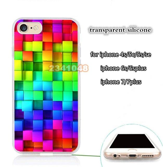 Blocchi Arcobaleno 3d Grafica Di Sfondo Chiaro Cassa Del Telefono