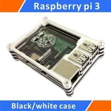 Big sale Raspberry pi 3 Black/white Acrylic Case
