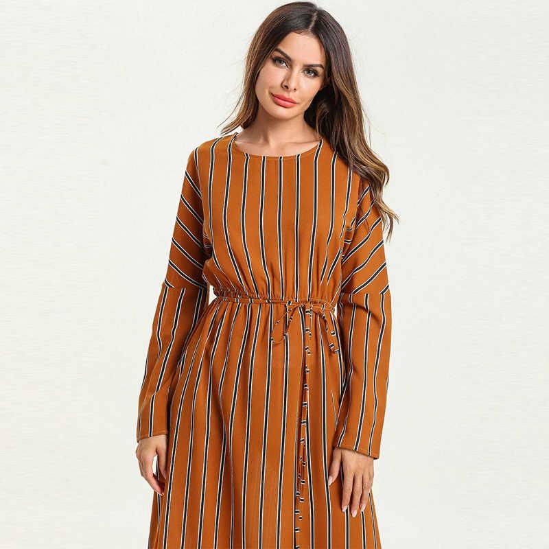 Плюс размер Vestidos одеяние мусульмане Longue арабский абайя Дубай исламский, мусульманский платье кафтан женские платья Хиджаб Рамадан Elbise