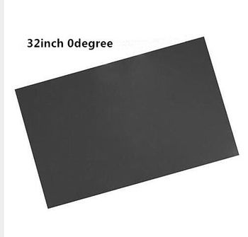 10PCS/Lot New 32inch 0 degree Glossy 715MM*410MM LCD Polarizer Polarizing Film for LCD LED IPS Screen for TV 1pc new 50inch 0 degree lcd polarizer film sheet for lcd led ips screen for tv