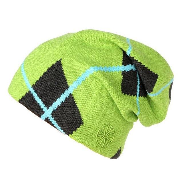 48dc780ef 2018 winter gorros Snowboard Winter Ski skating Hats Beanies head warm for  men woman winter hat